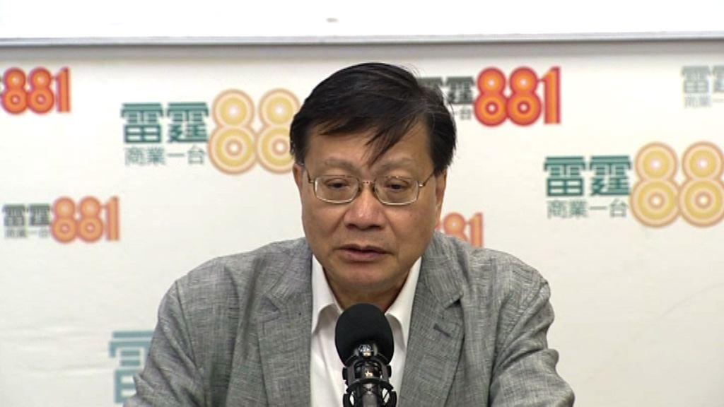 張炳良:可討論讓政府有限度支援自資院校