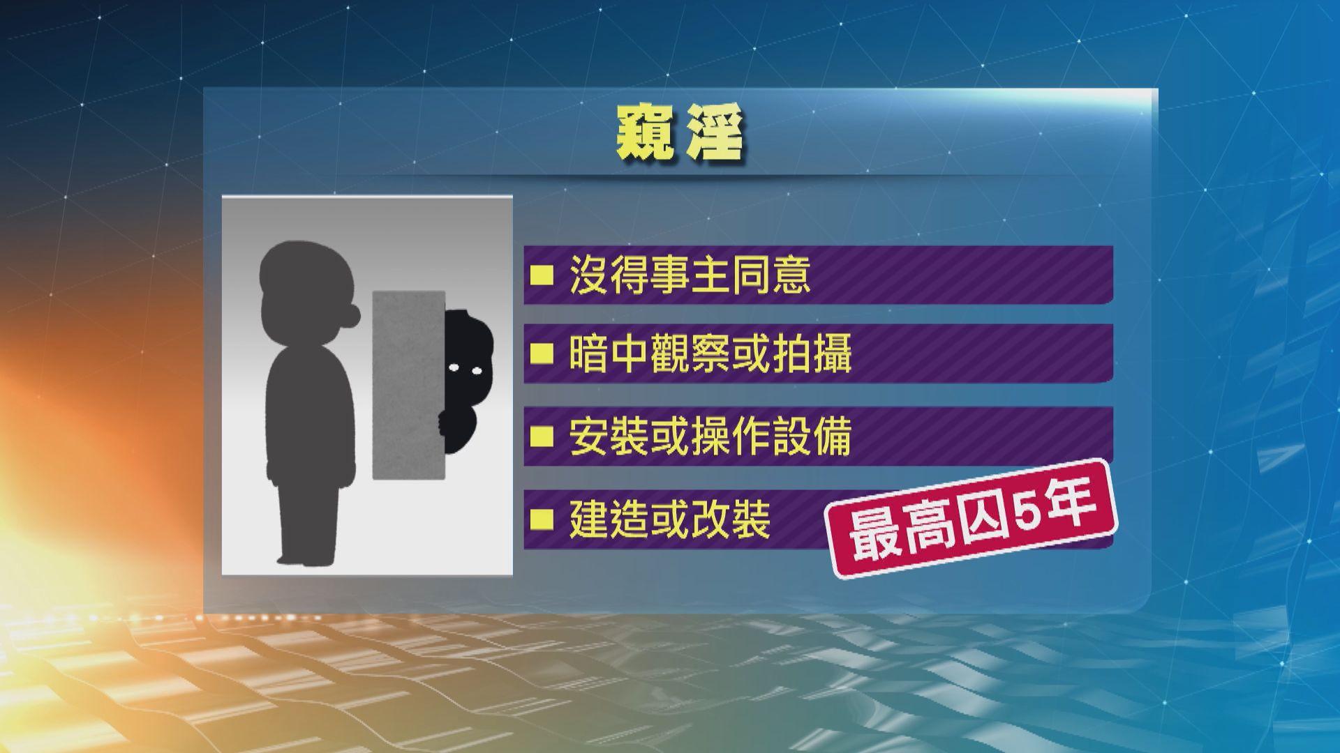 政府刊憲修例訂立窺淫等罪 違者最高可囚5年