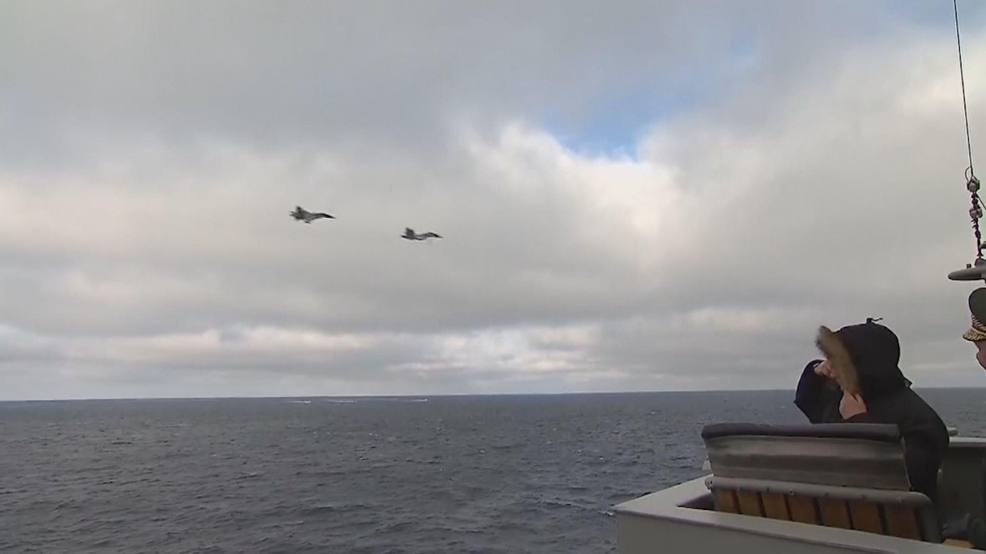 俄海軍舉行聯合演習試射超高音速導彈