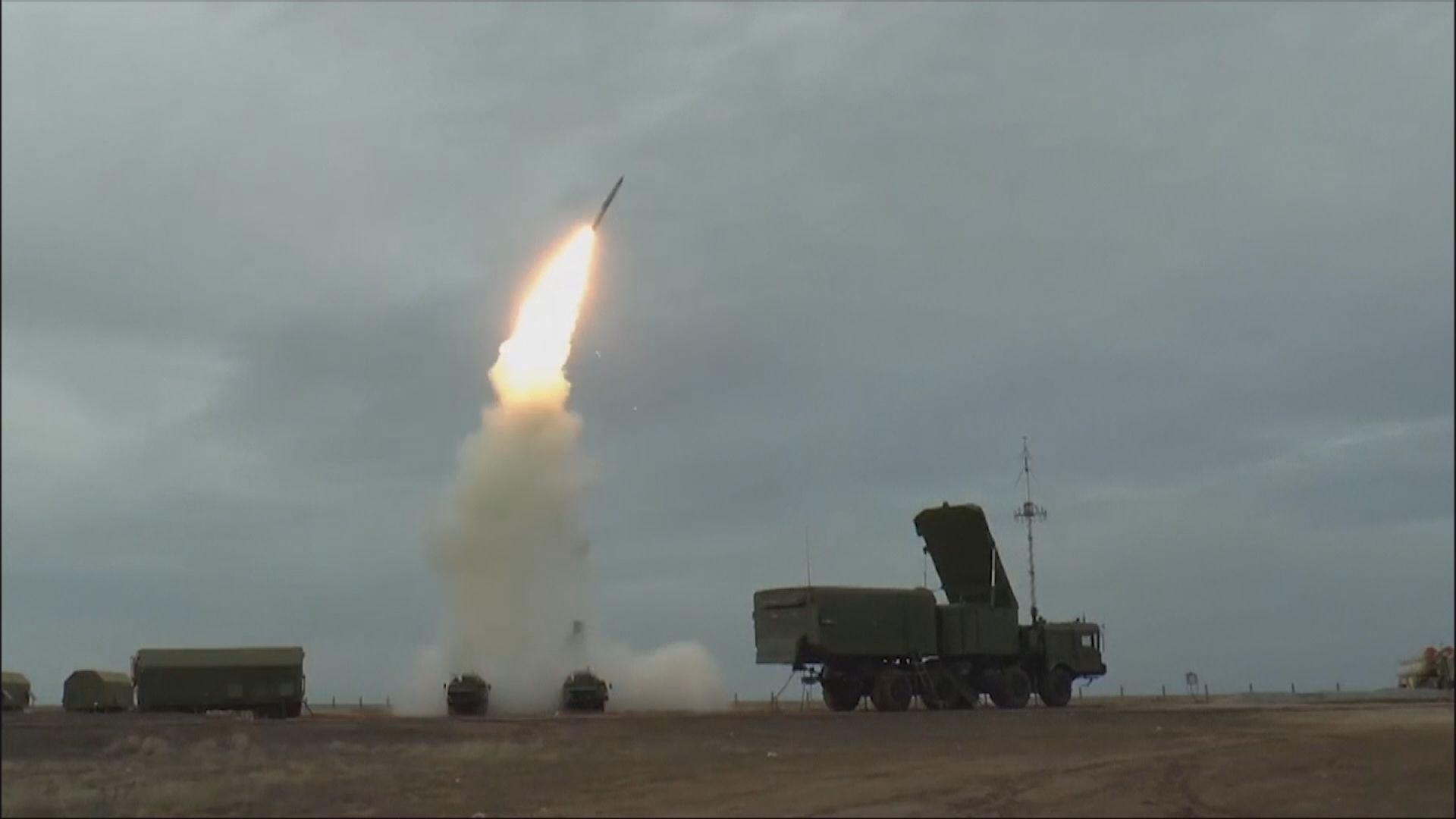 俄軍於烏克蘭邊境試射新型防空導彈