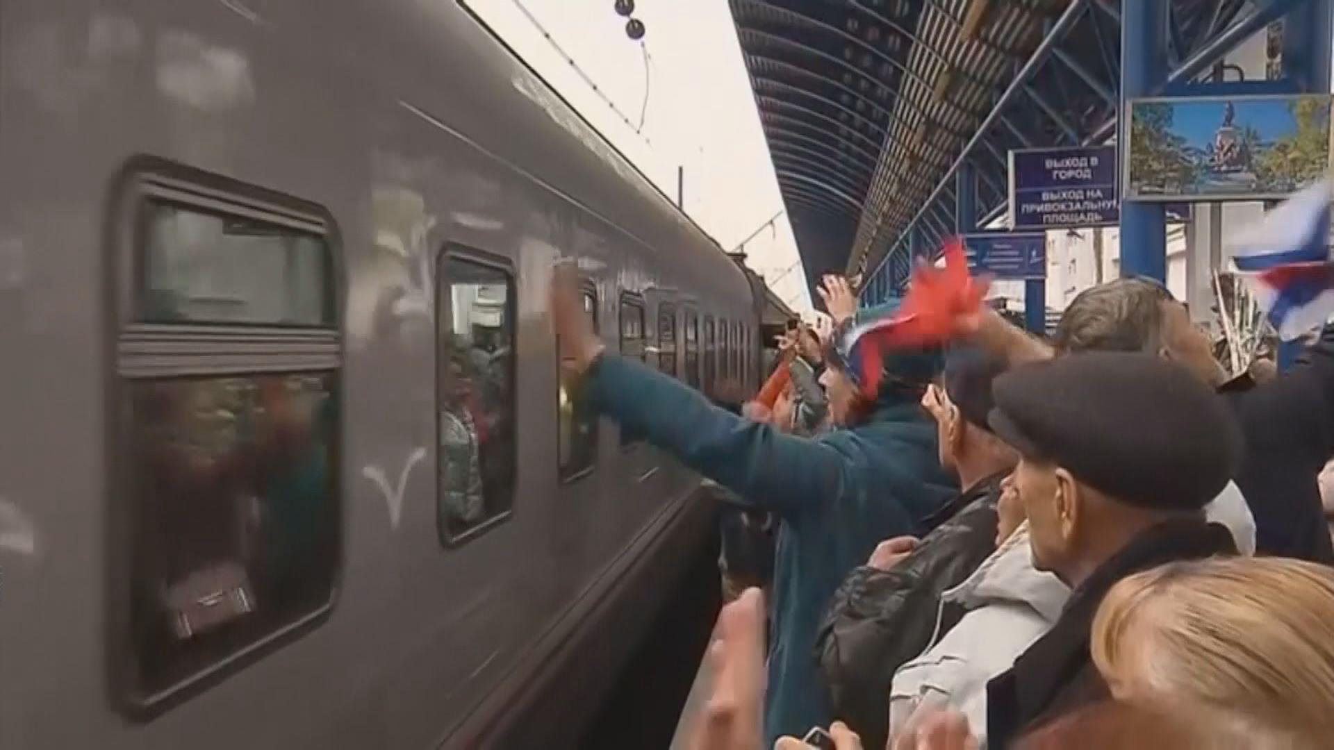 烏克蘭政府指俄羅斯列車經跨海大橋載人非法入境
