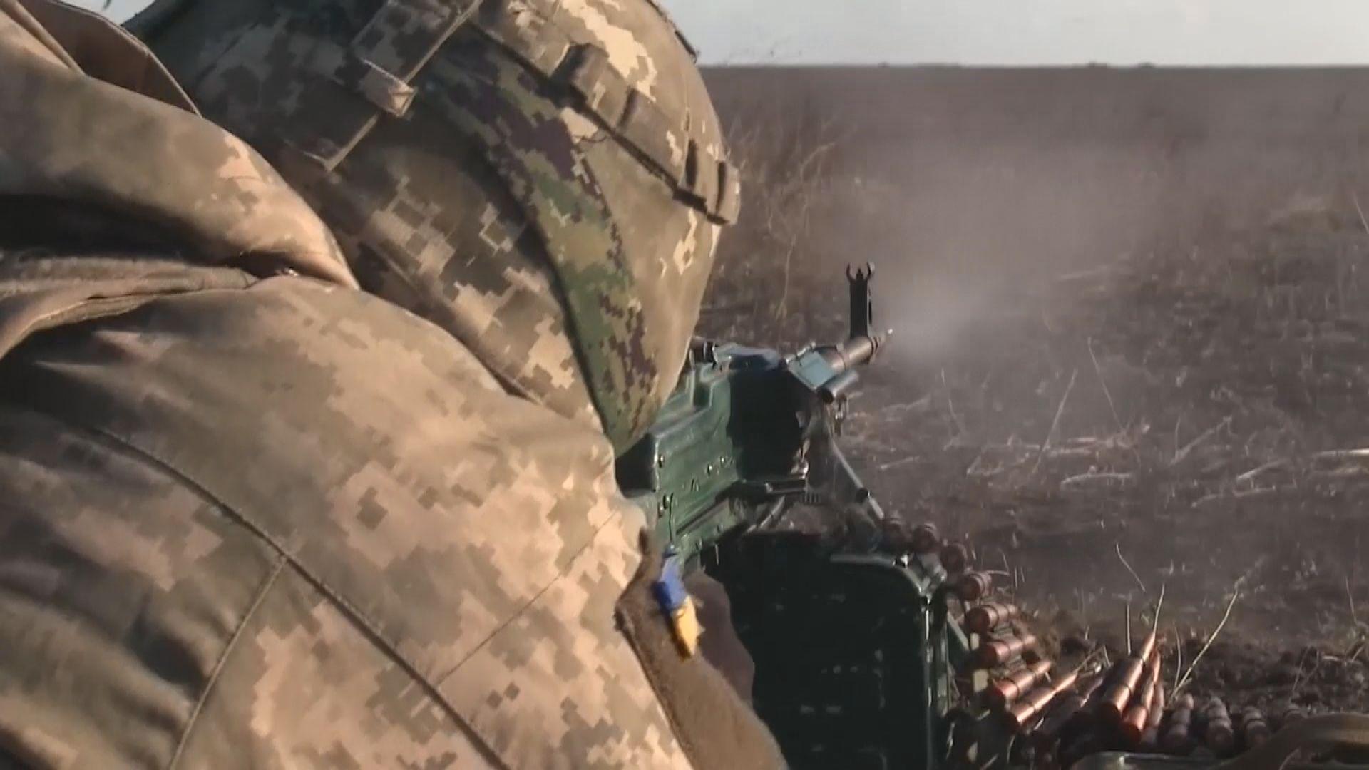烏克蘭軍方舉行陸空演習展示實力