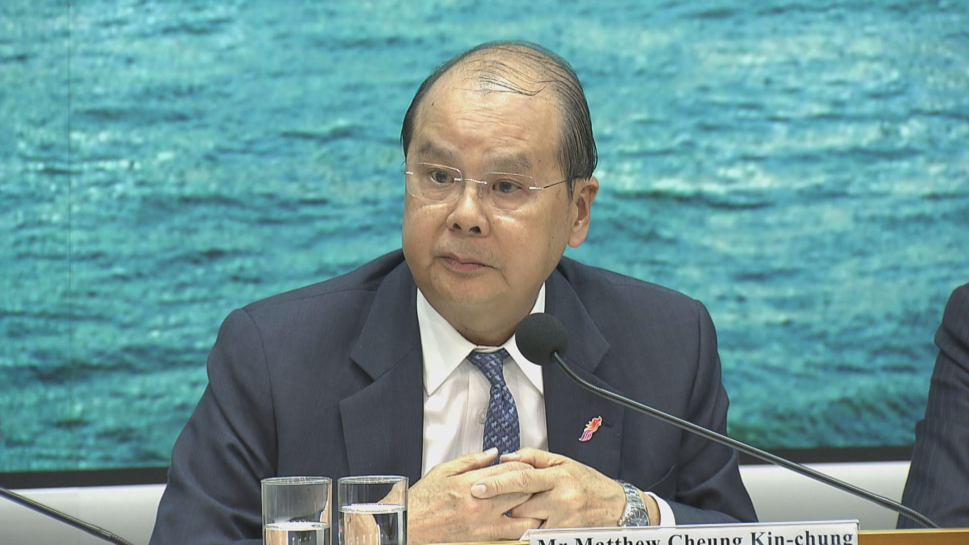 張建宗:籌備選舉挑戰前所未見