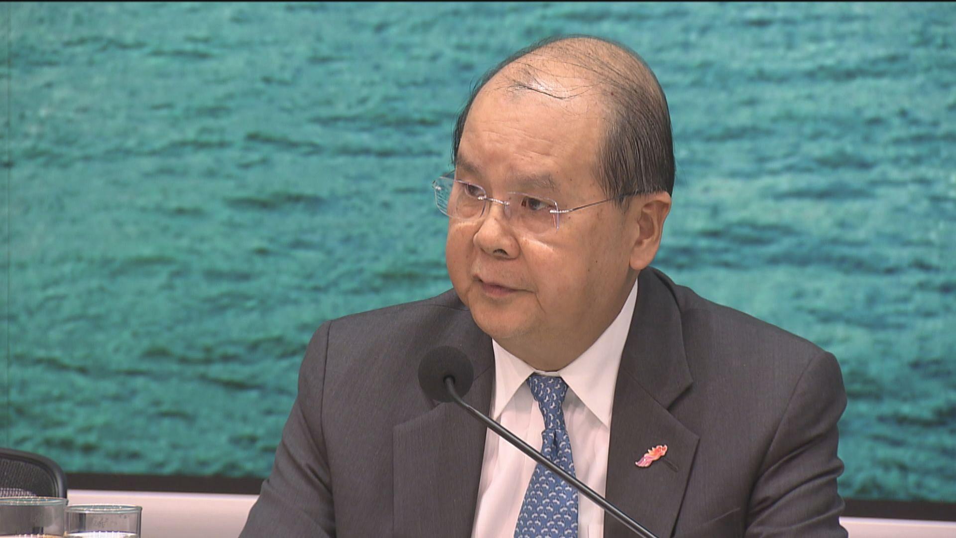 張建宗:政府已積極跟進採購新冠病毒疫苗工作