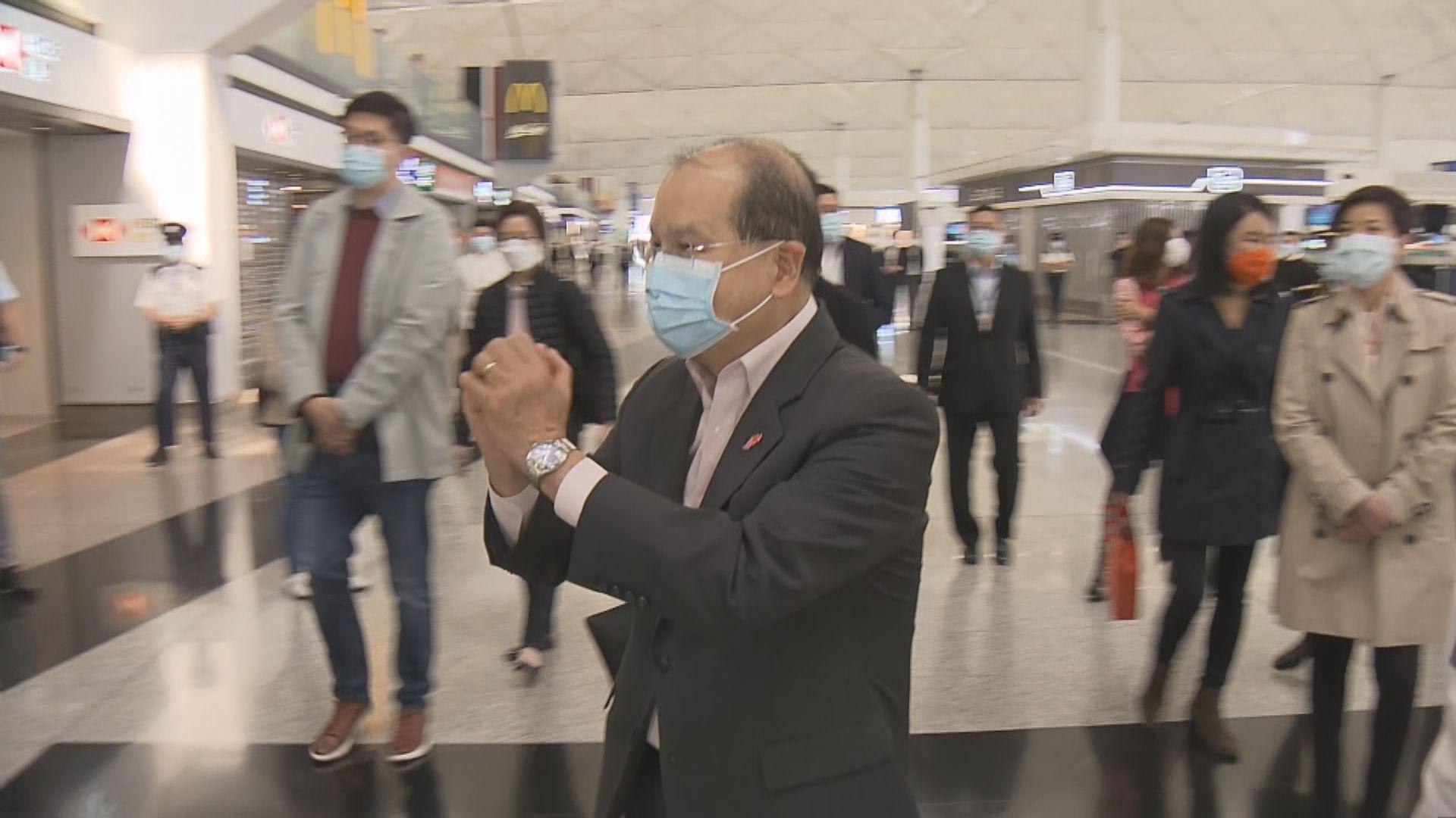 張建宗:若疫情反覆 全港市民努力將功虧一簣