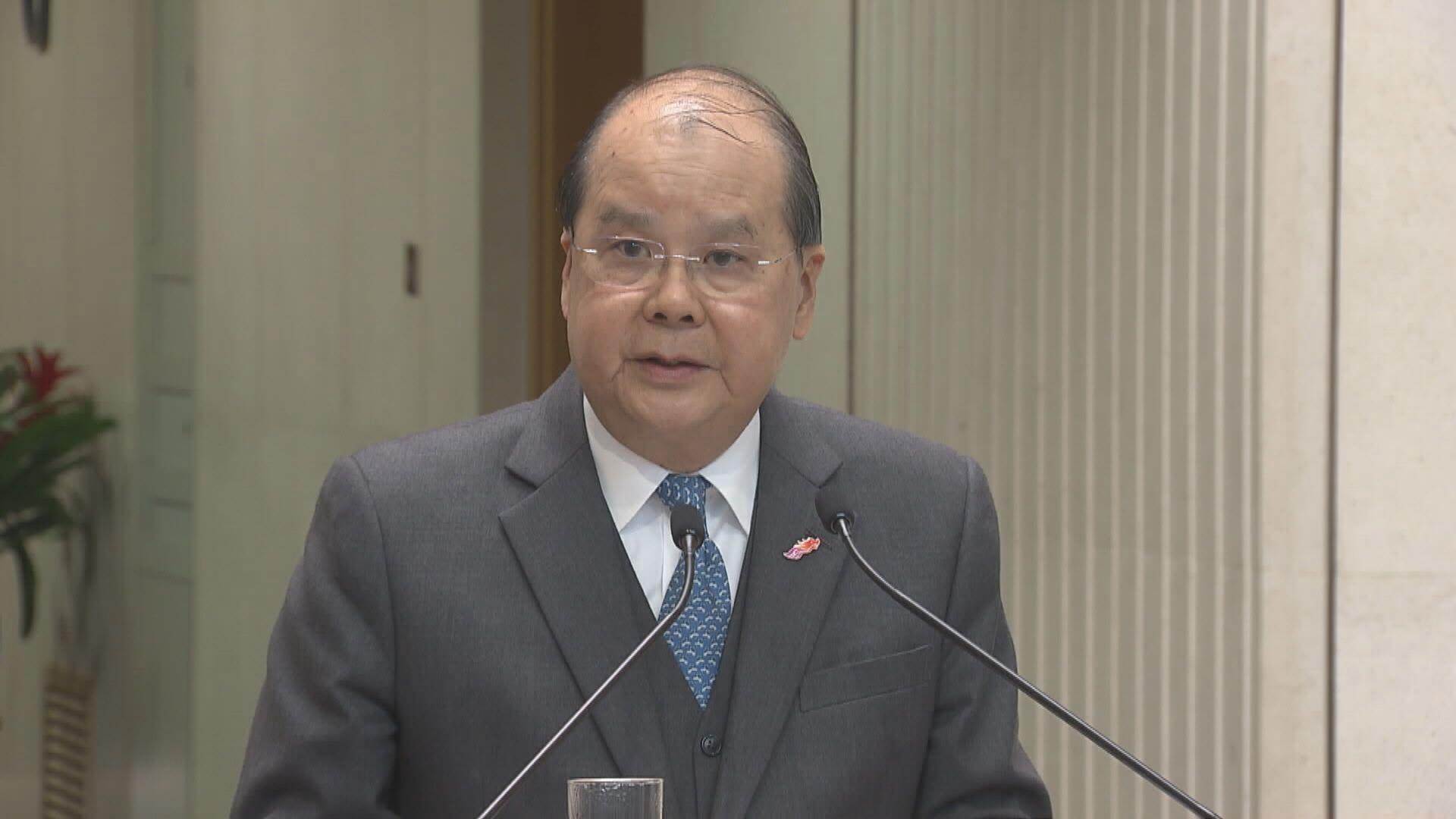 張建宗:防疫情反彈 免把香港復甦拖後腿