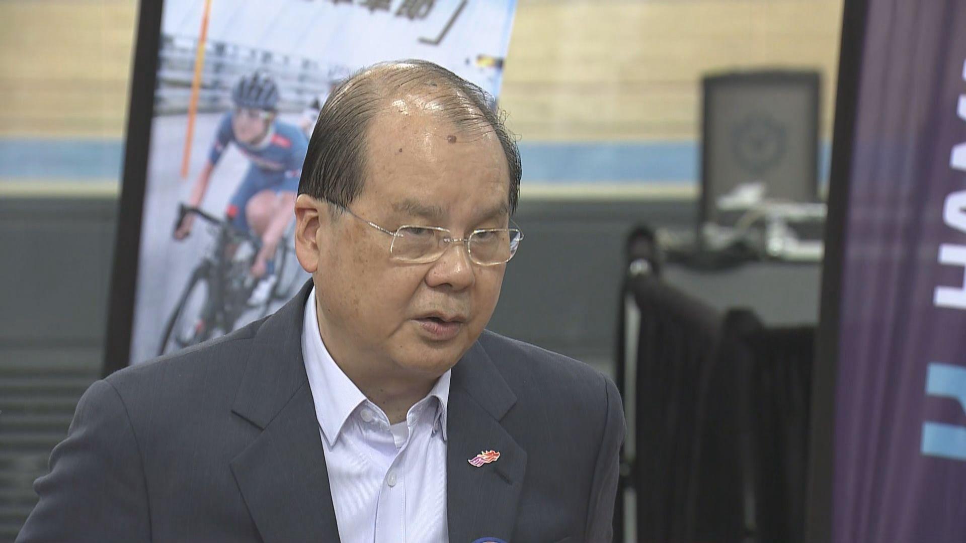 張建宗:政府人員在選舉過程中立持平
