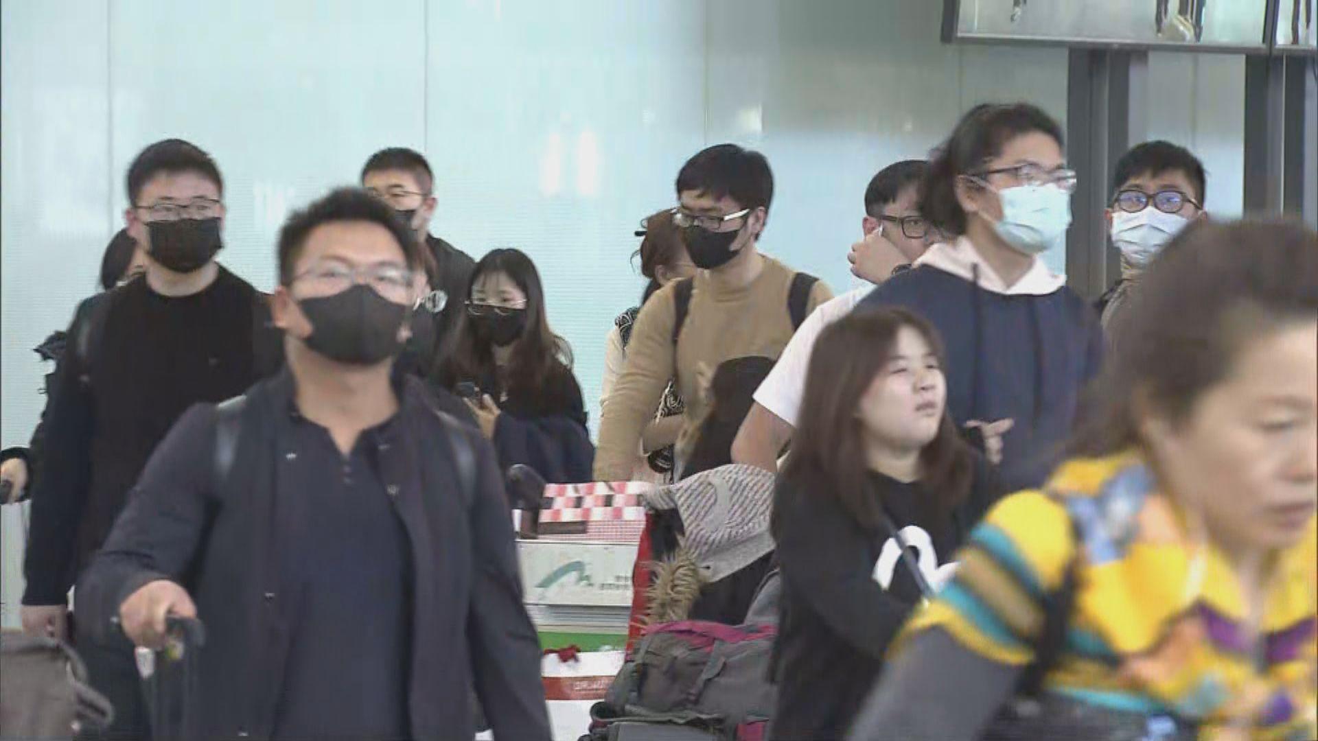 武漢抵港旅客:只需申報出發地、航班資料及電話