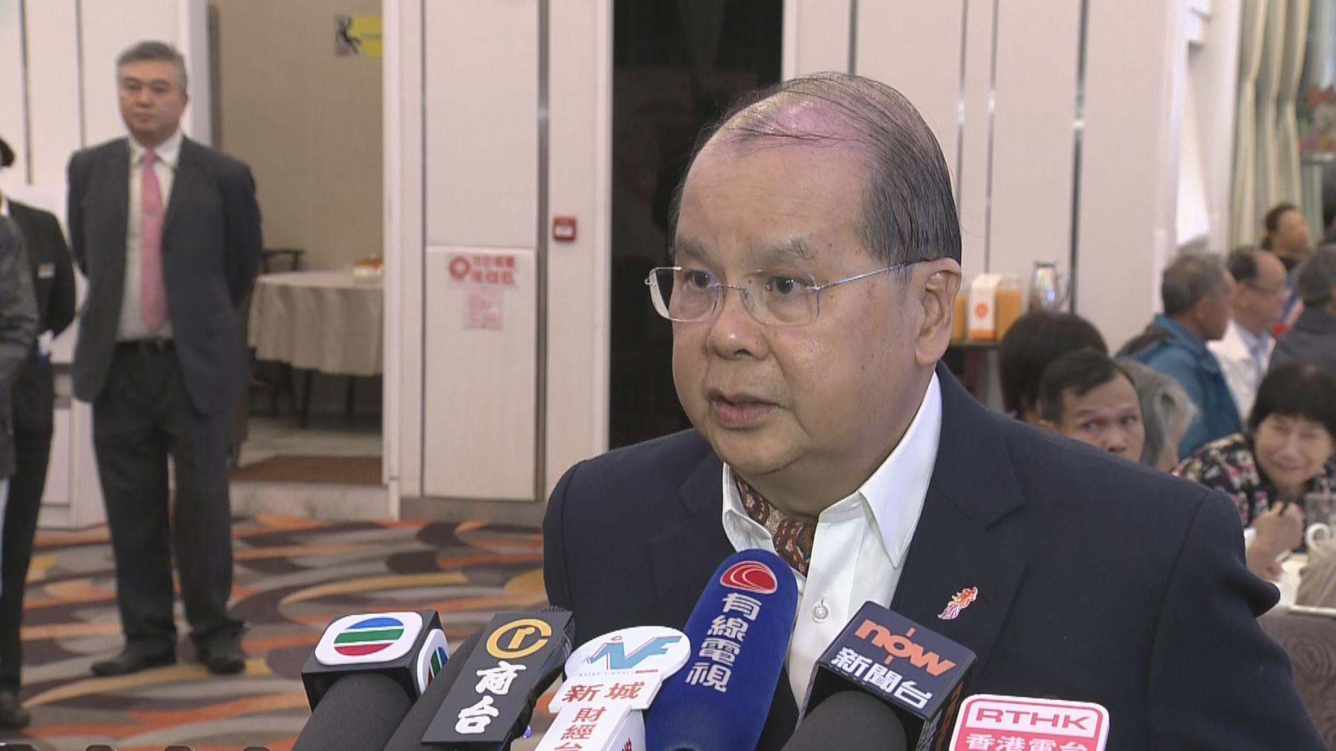 張建宗:政府約見新任區議員是溝通開始