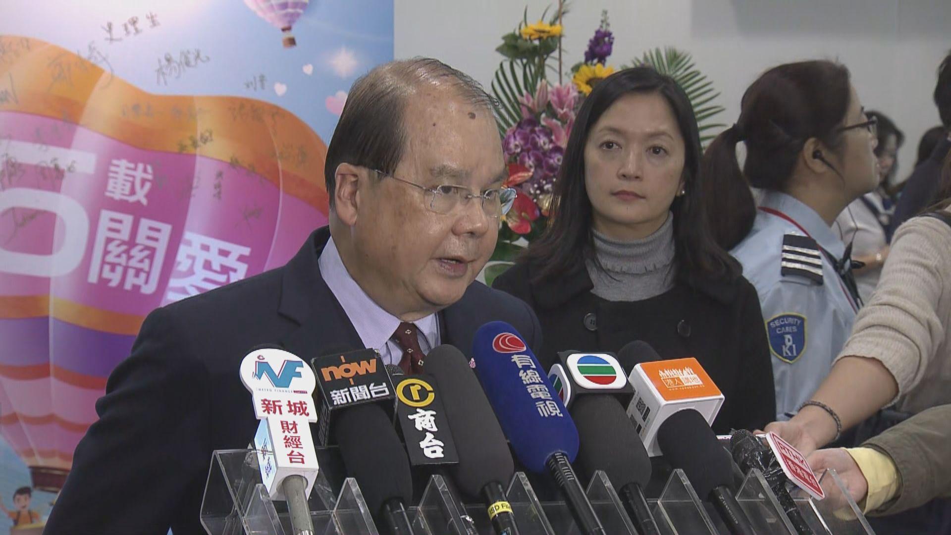 張建宗:內地行動不涉刑事強制措施 不需通報