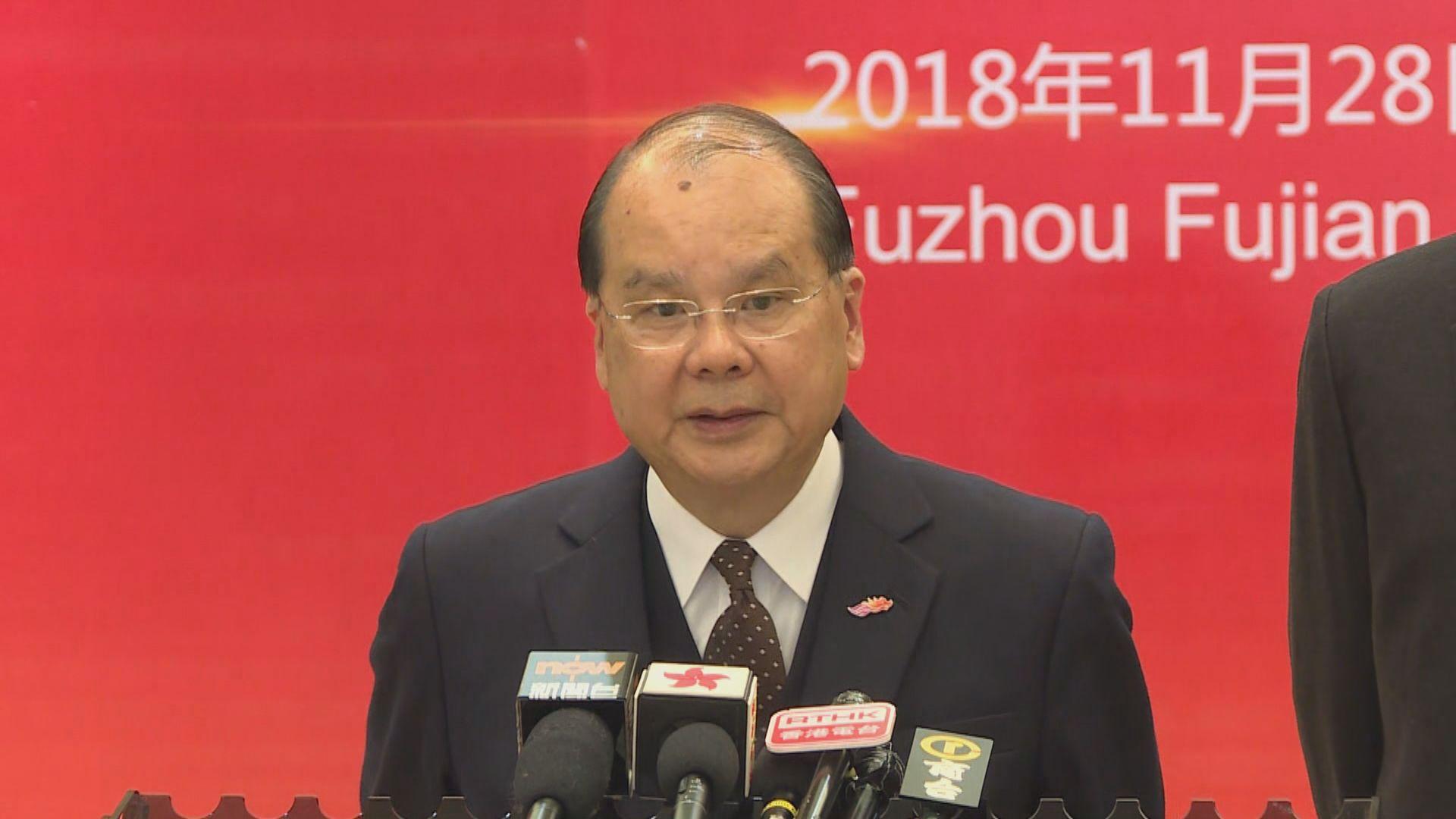 張建宗:港台會根據審計報告建議改善及回應