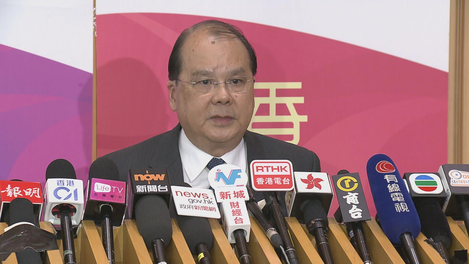 張建宗:現階段無意中止與外國記者會合作