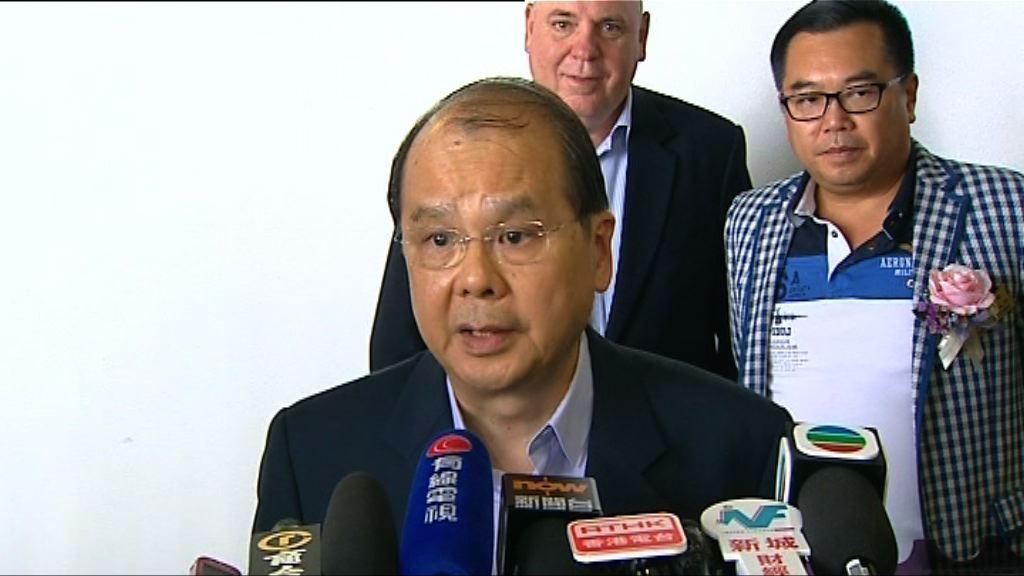 張建宗:鼓吹港獨挑戰國家底線