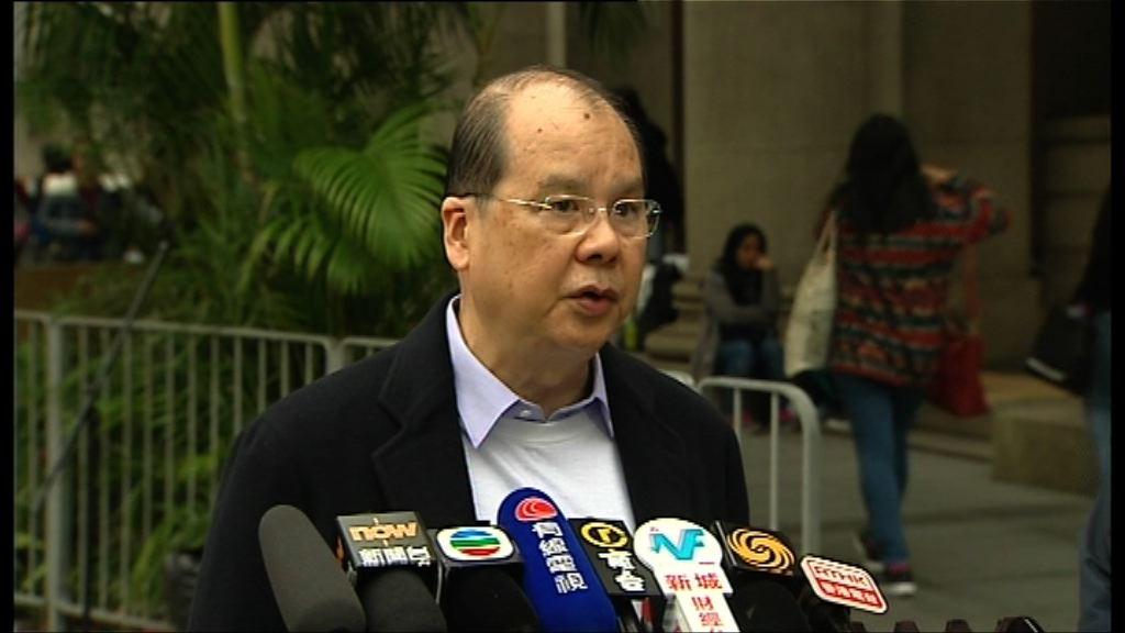 張建宗:尊重及支持周庭不符參選資格決定