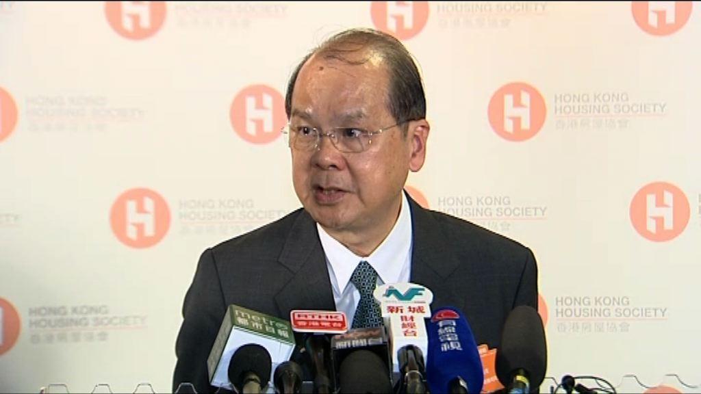 張建宗:不認為李飛言論是向政府施壓