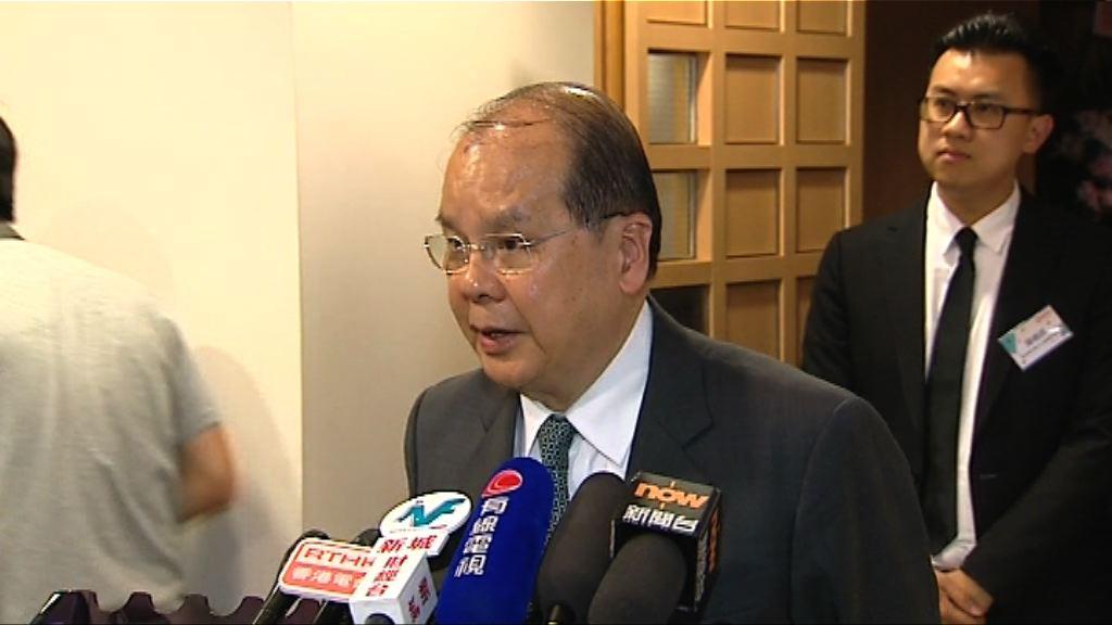 張建宗:喬曉陽沒提及23條立法