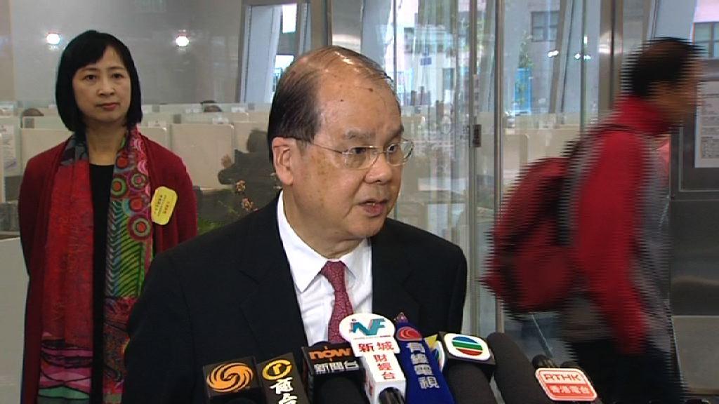 張建宗:政府並非為修改議事規則「助攻」