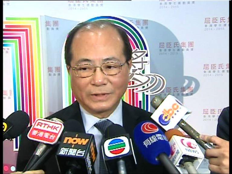 吳克儉:勿以政治看待解放軍參觀