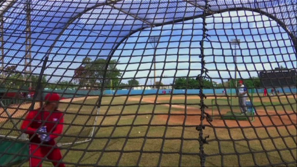 古巴破冰之旅 奧巴馬展棒球外交