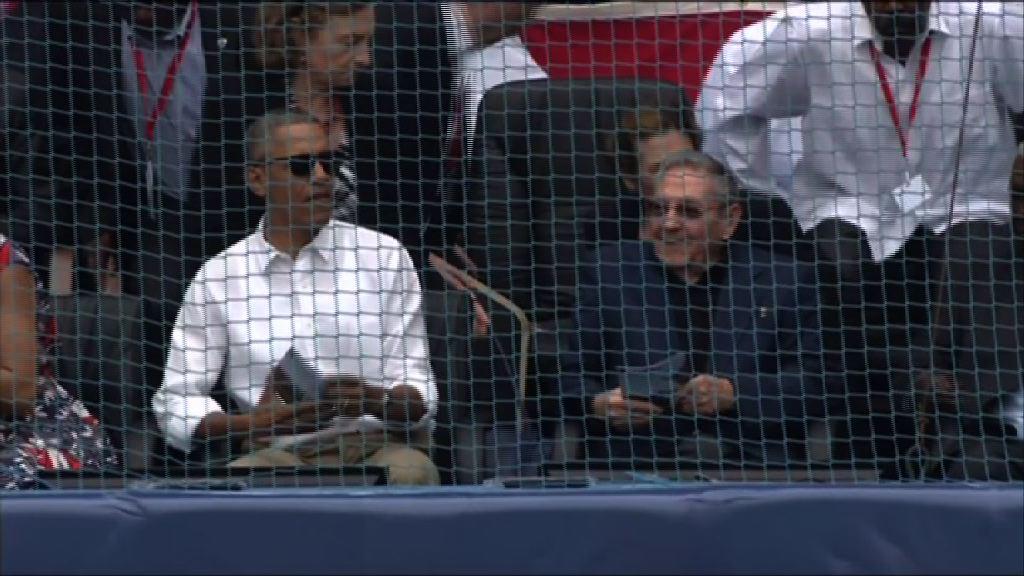 奧巴馬結束訪問古巴行程