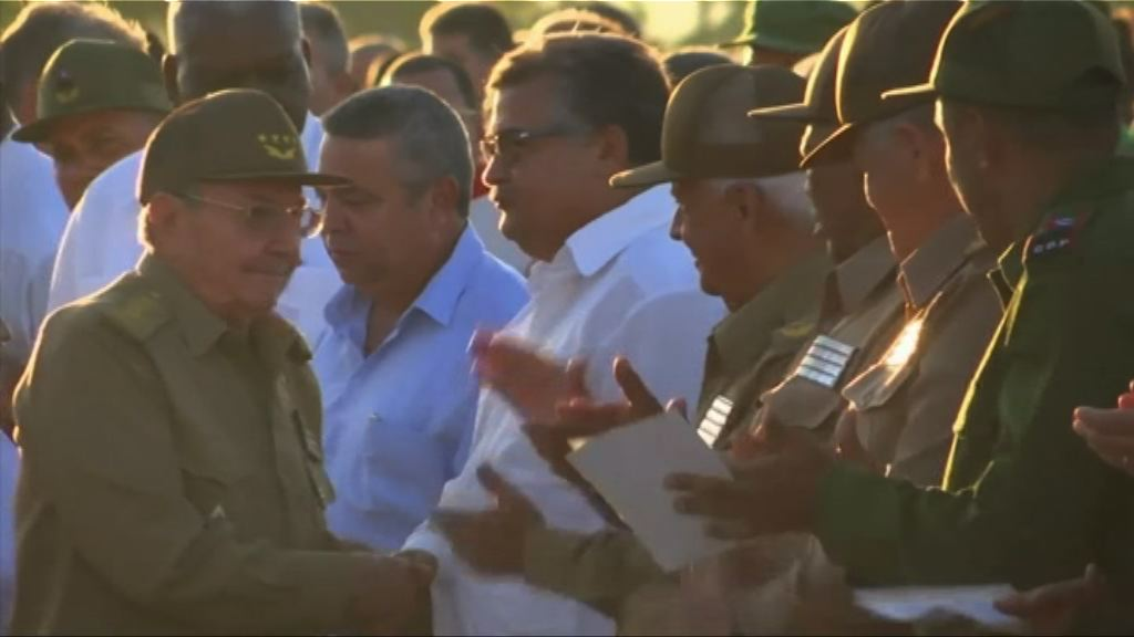 古巴數千民眾紀念哲古華拉逝世50周年