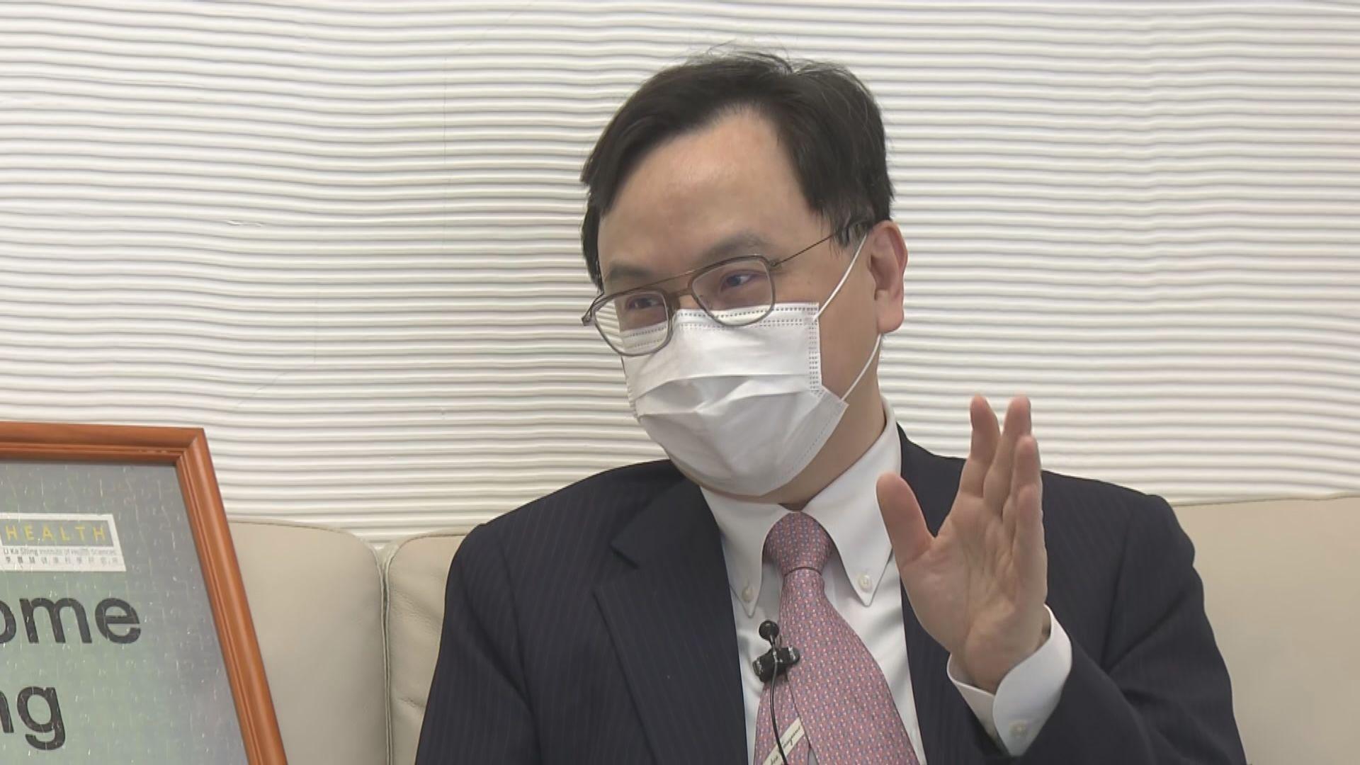 盧煜明再獲獎 冀血液檢測技術應用於其他疾病篩查