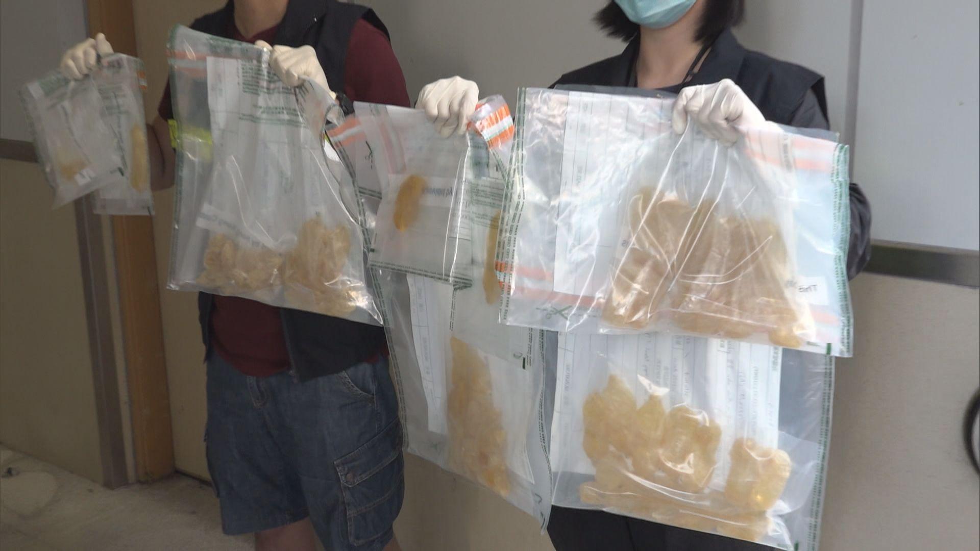 海關機場拘兩名抵港女子疑體內藏毒