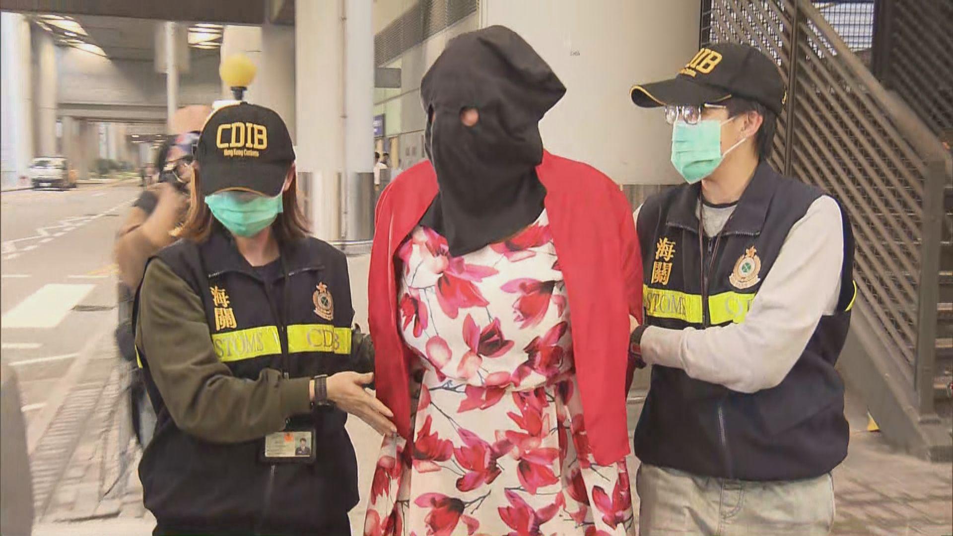 海關機場截查南非抵港女子檢懷疑可卡因