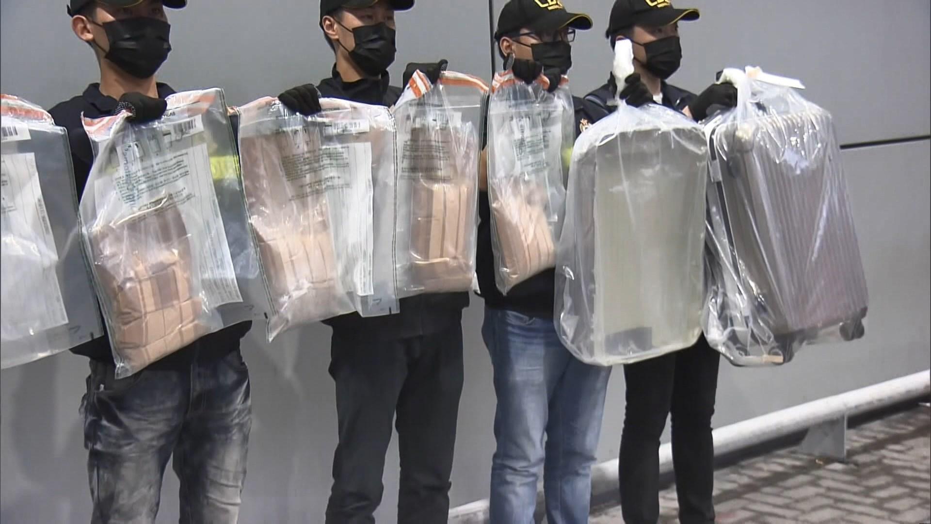 海關拘一男檢可卡因巿值約980萬