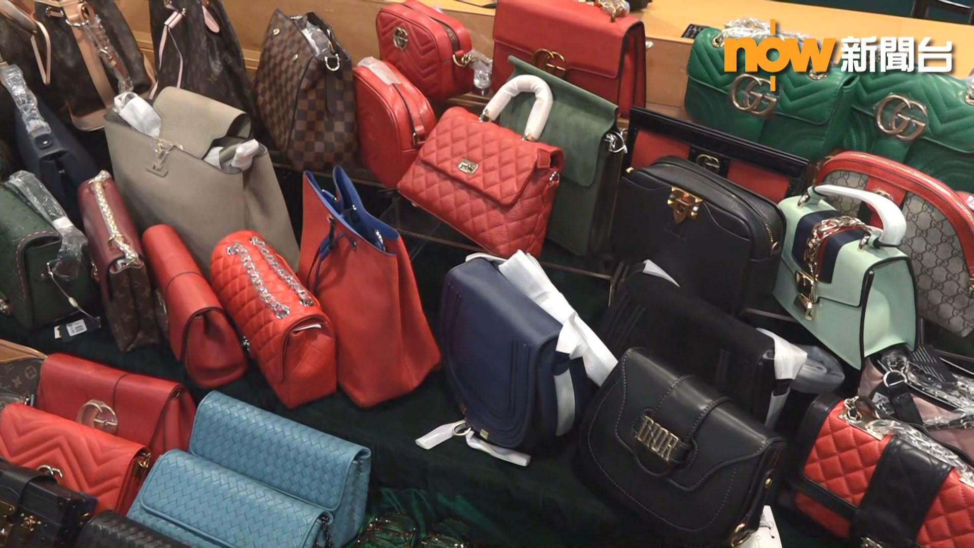 海關破通菜街冒牌貨集團拘六人
