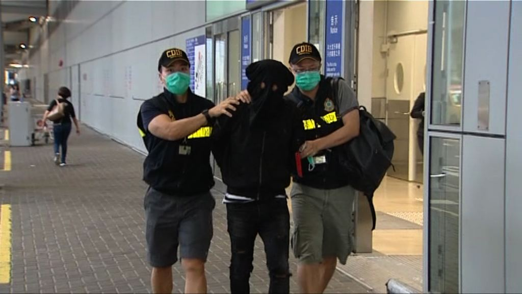 海關機場檢獲氯胺酮拘兩人