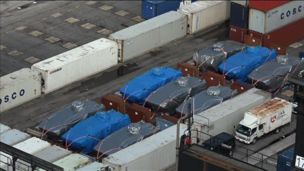 裝甲車被扣 海關稱新加坡政府非調查對象