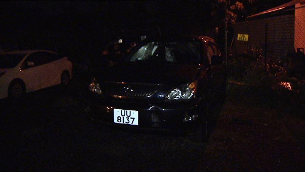 警元朗發現可疑車輛涉海關緝毒案