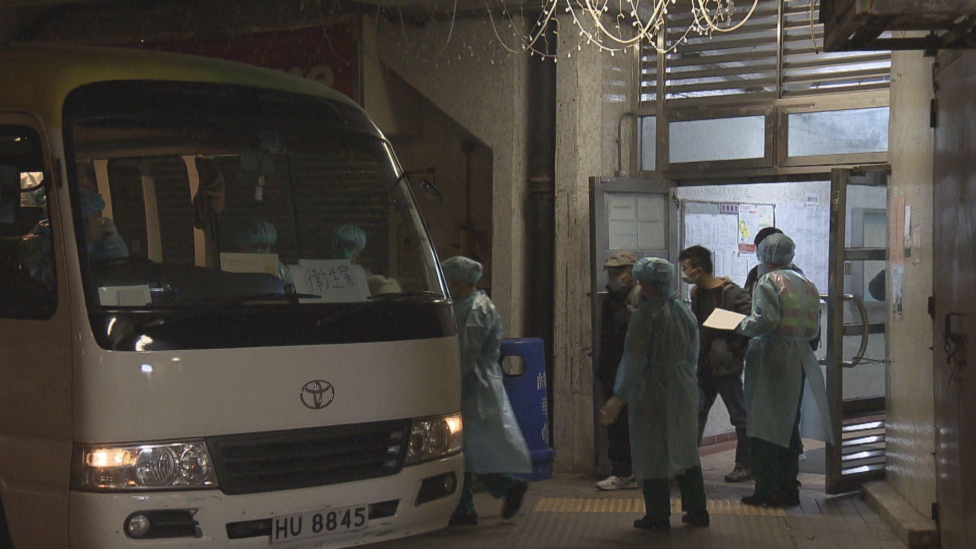 柴灣峰華邨第二日撤離居民 全幢大廈13室居民須撤離