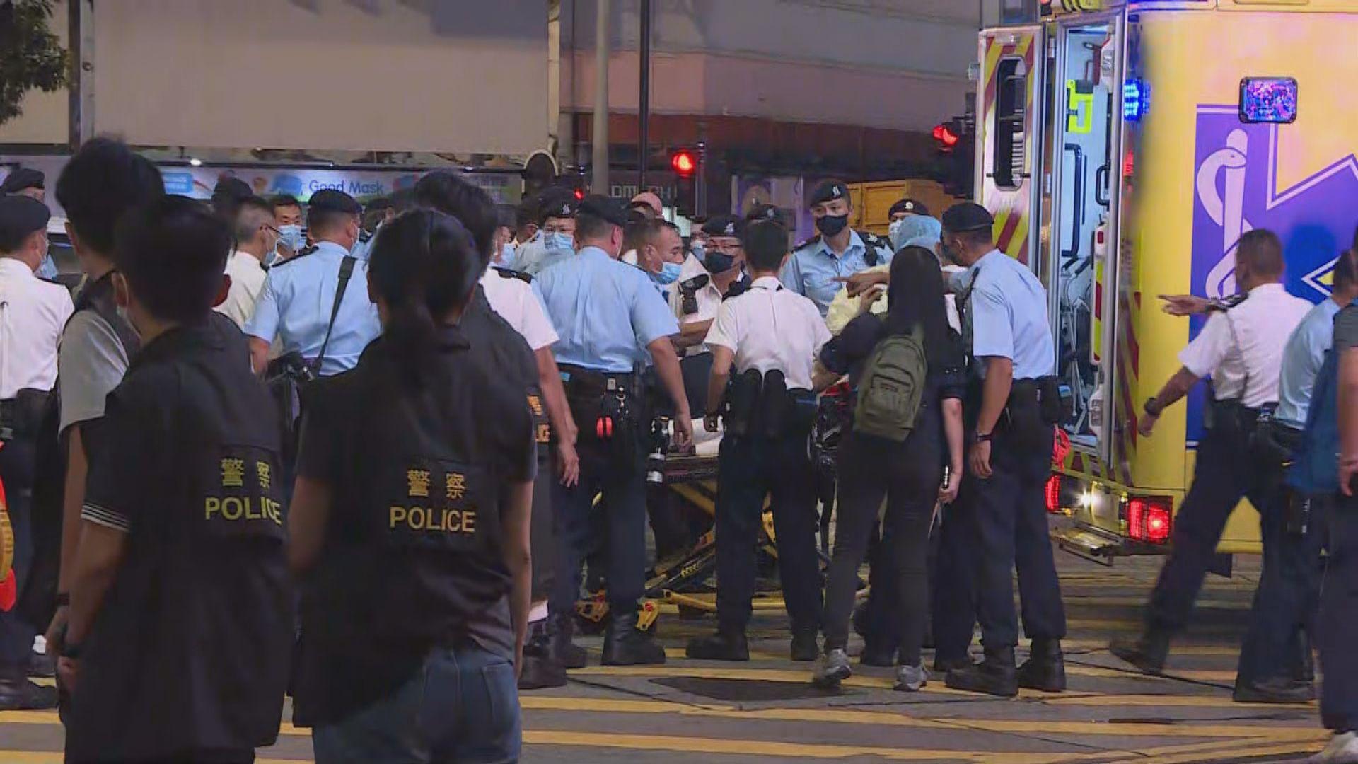 一警員銅鑼灣被刀襲擊 警方:嚴厲譴責必定追究到底