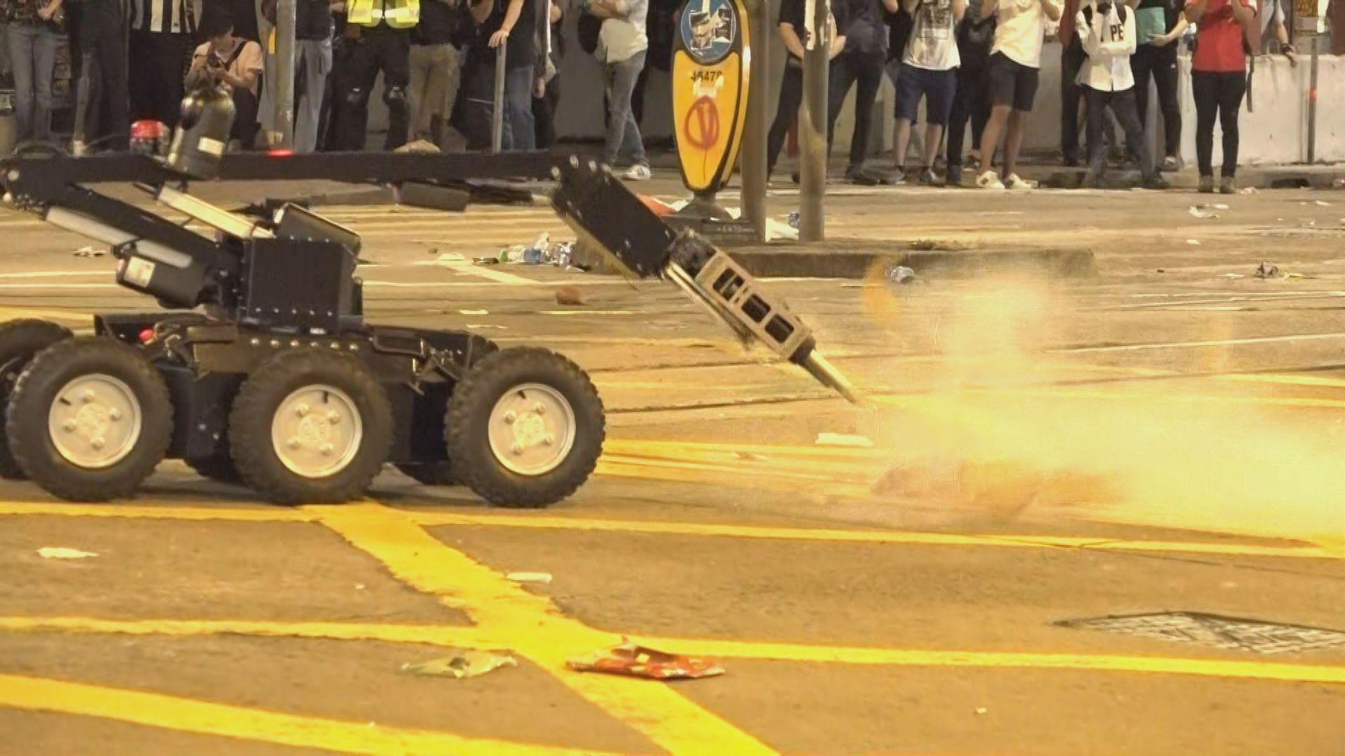 警員波斯富街發現懷疑爆炸品 出動炸彈處理