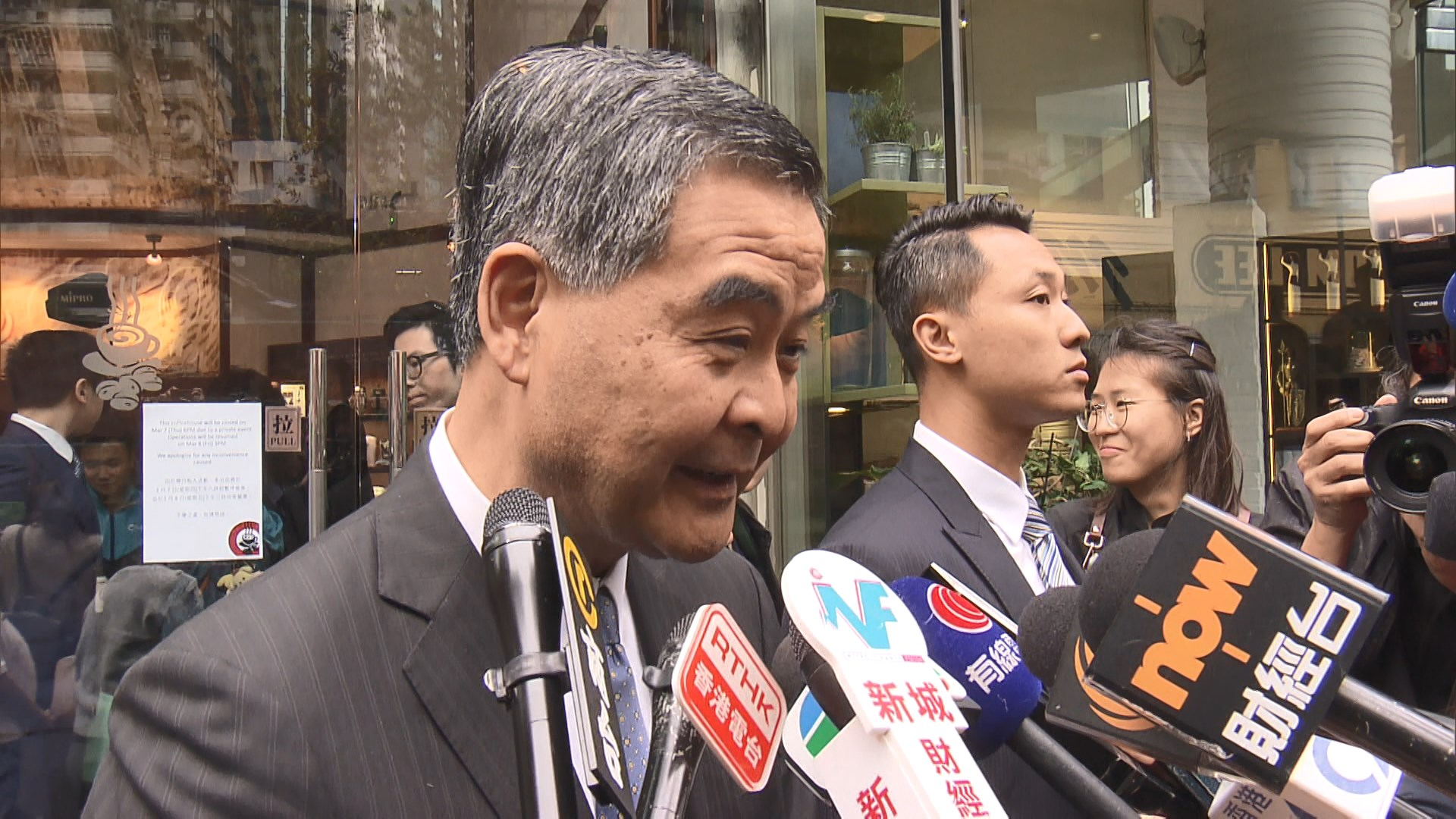 吳文遠案 梁振英:法官毋須揣測律政司在檢控上是否作遷就