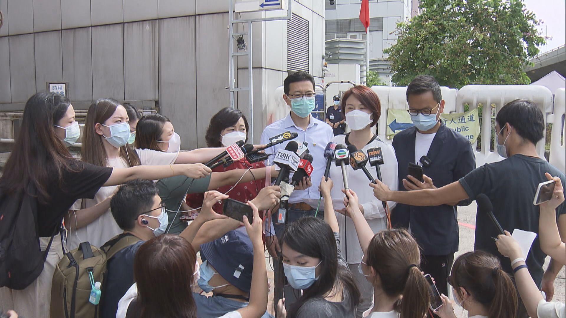 民建聯工聯會與中聯辦官員會面 倡中央協助應對疫情