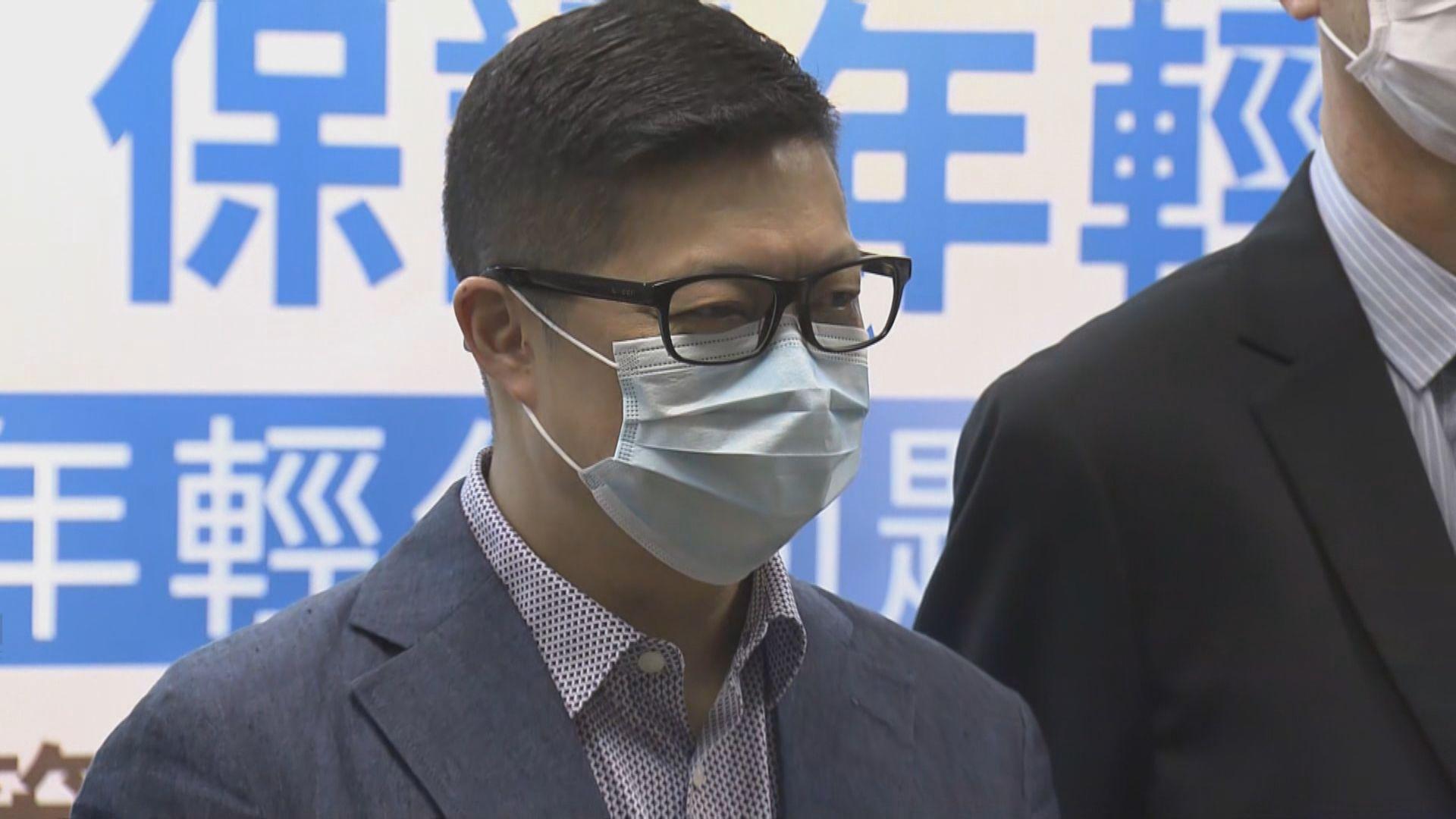 鄧炳強:反修例被捕年輕人被利用是受害者