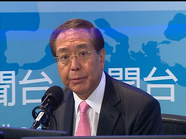 李國章指有政黨干預港大內政