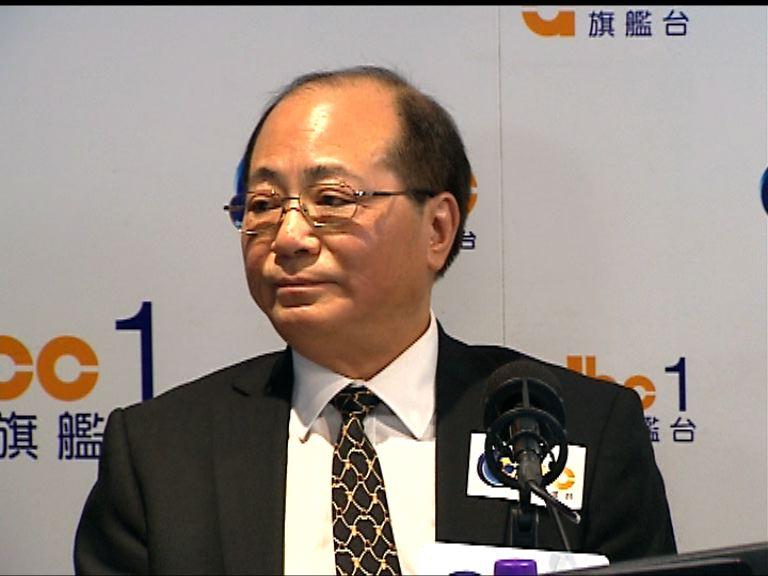 吳克儉:只是鼓勵校長支持政改