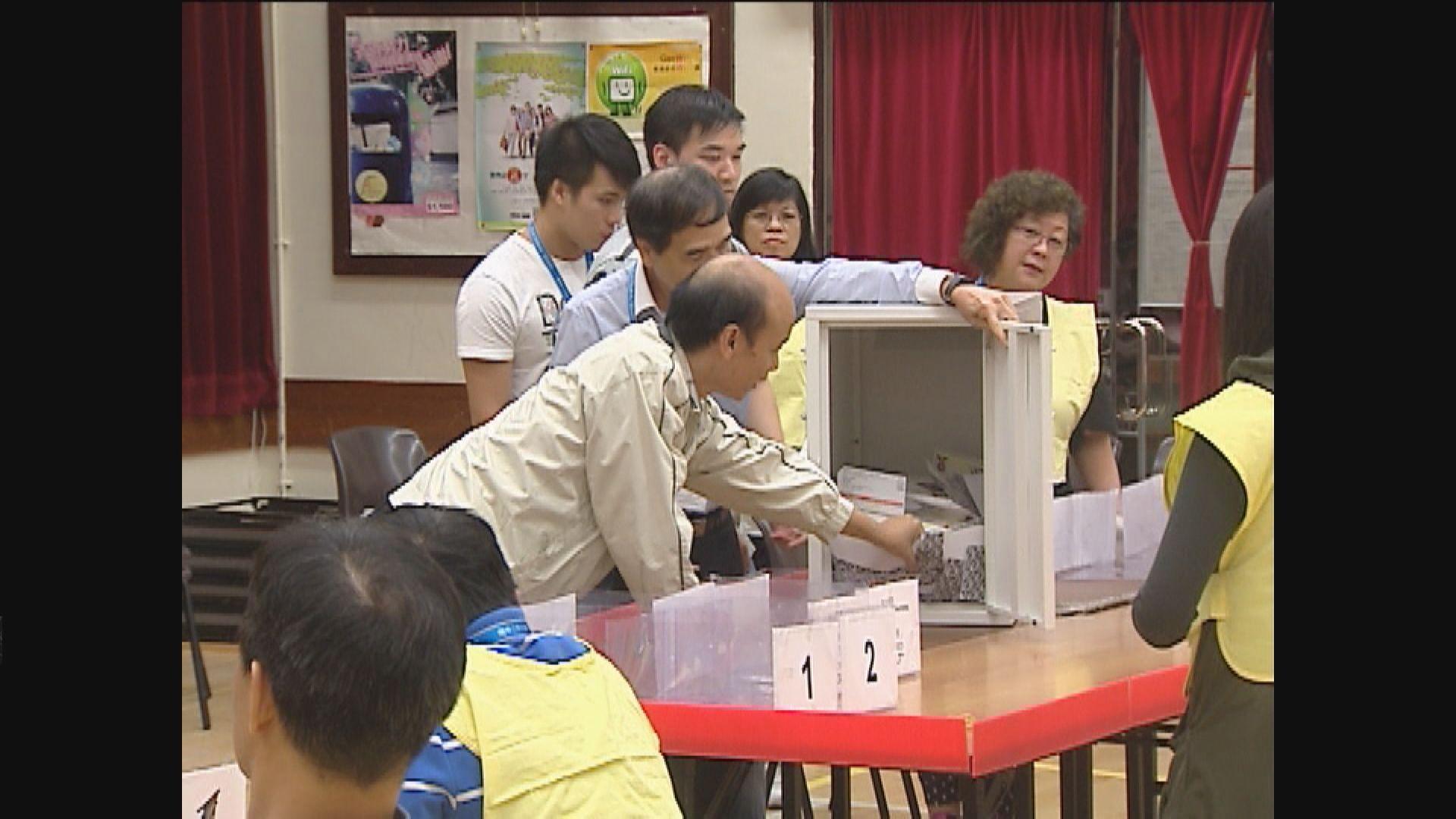 區議會選舉提名期下月4日展開
