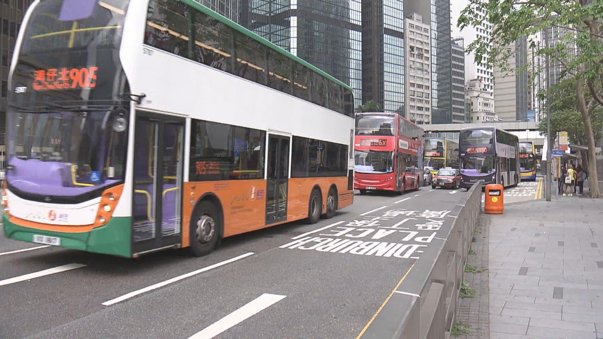 巴士、小巴及電車將豁免中環電子道路收費