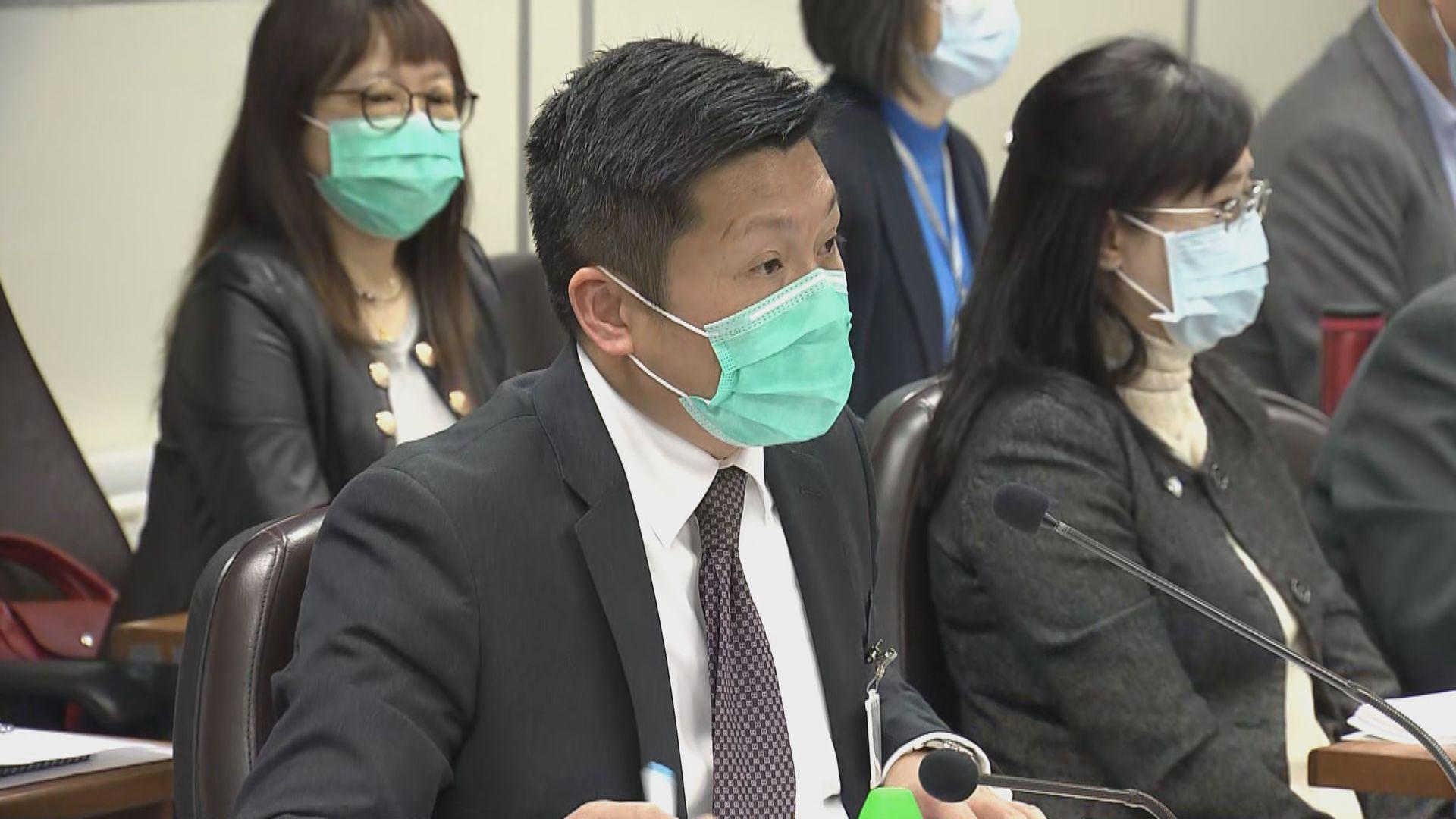 警方到葵青區議會交代罪案情況