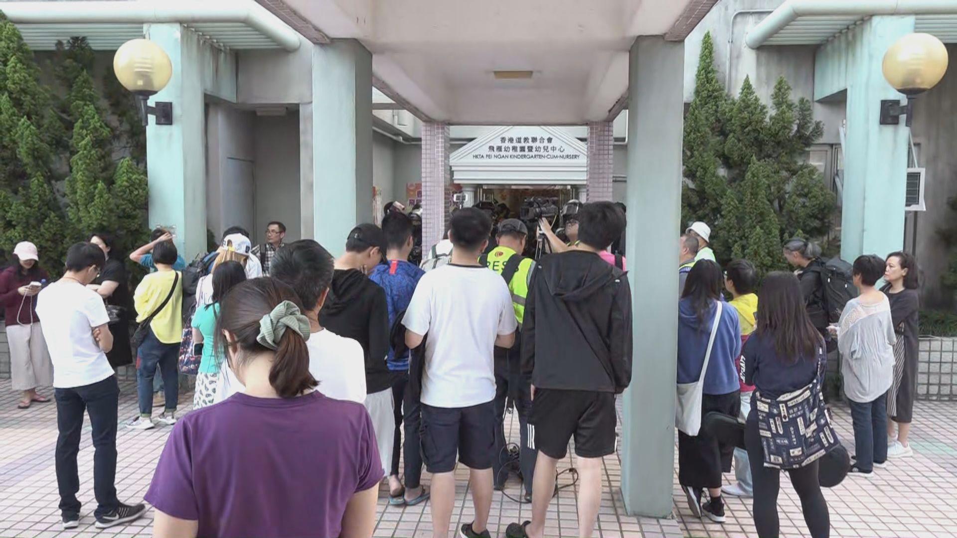 藍田選區有人質疑選舉不公拒離開票站