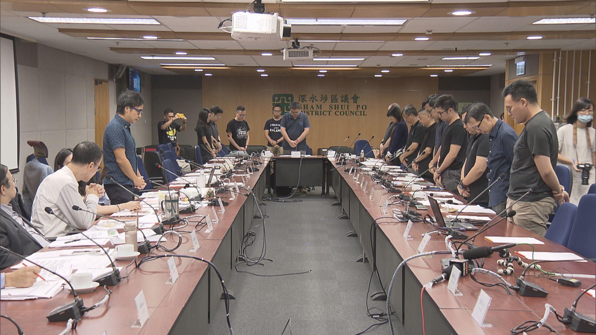 深水埗民主派區議員擬商修例風波建制派離場