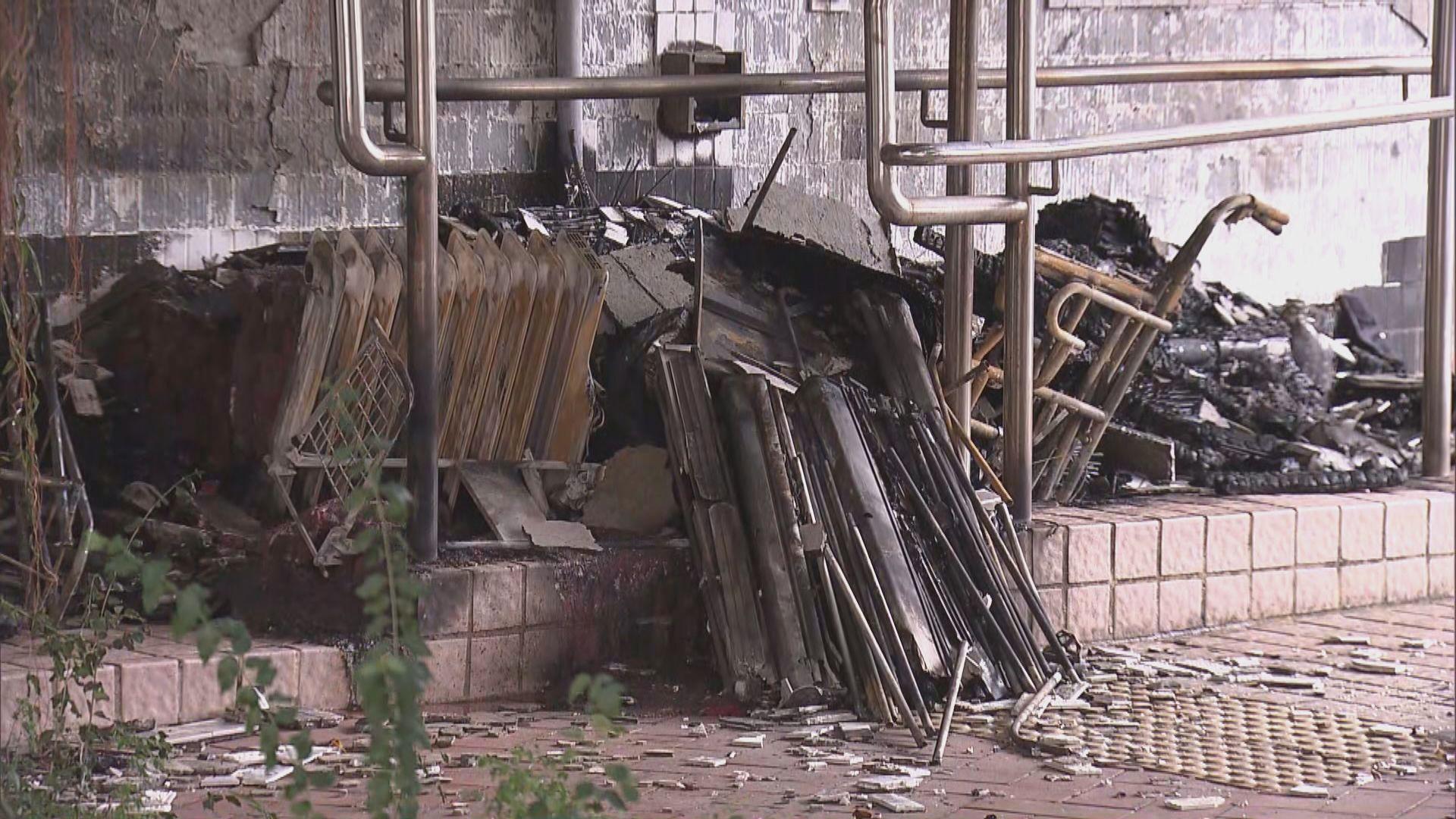 三名建制派區議員辦事處被破壞