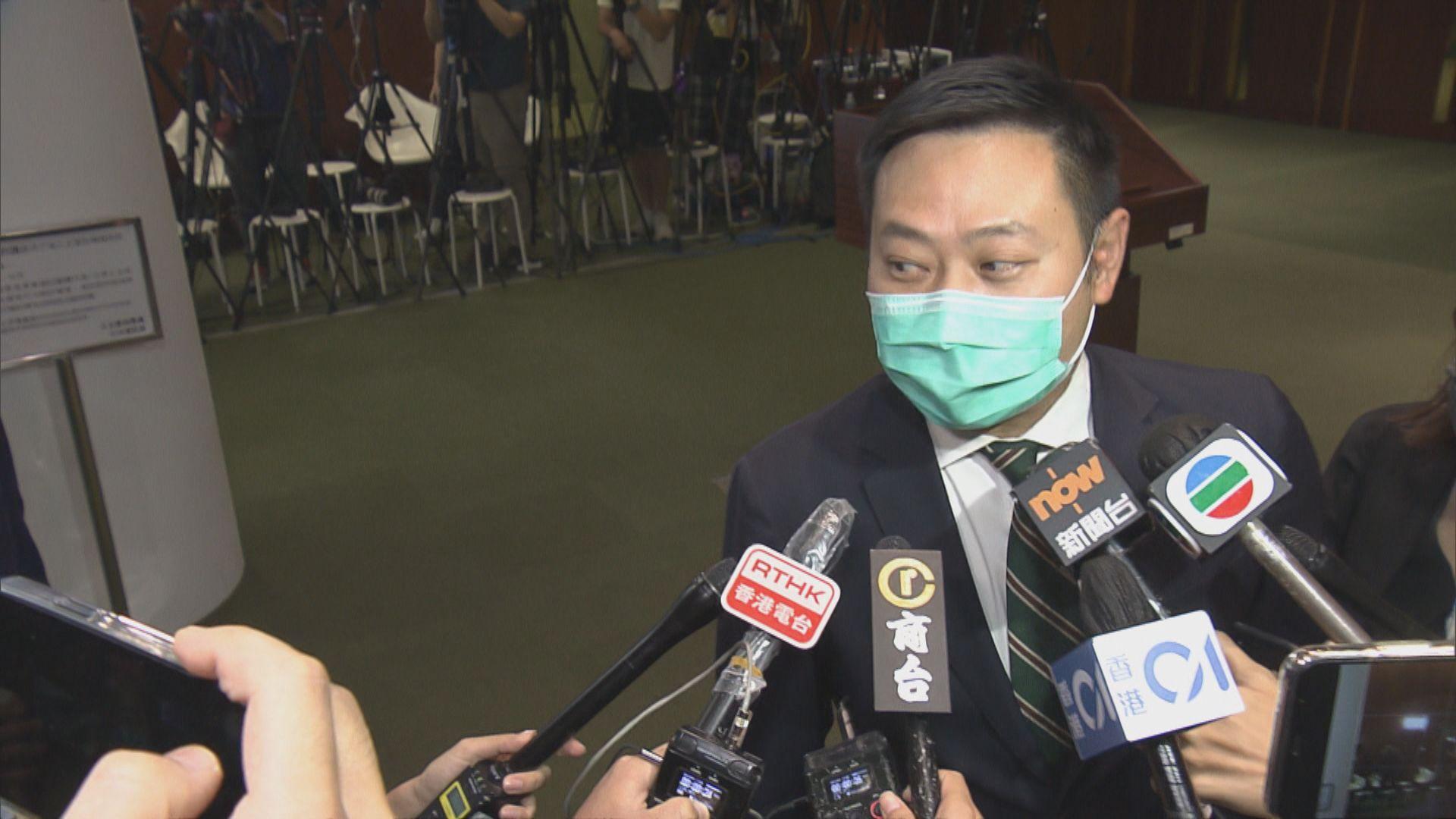 徐英偉:會適時公布區議員宣誓細節