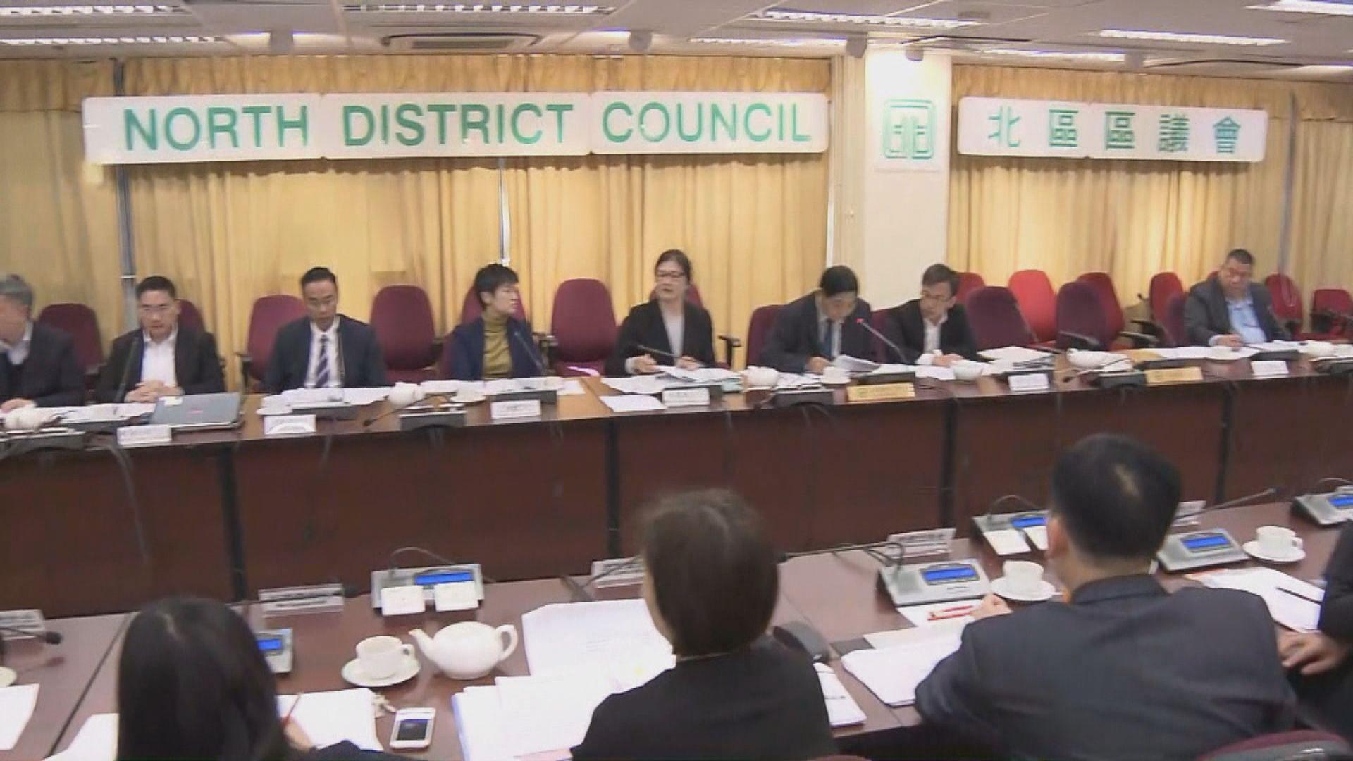 北區區議會否決自由行旅客改為一年八行動議