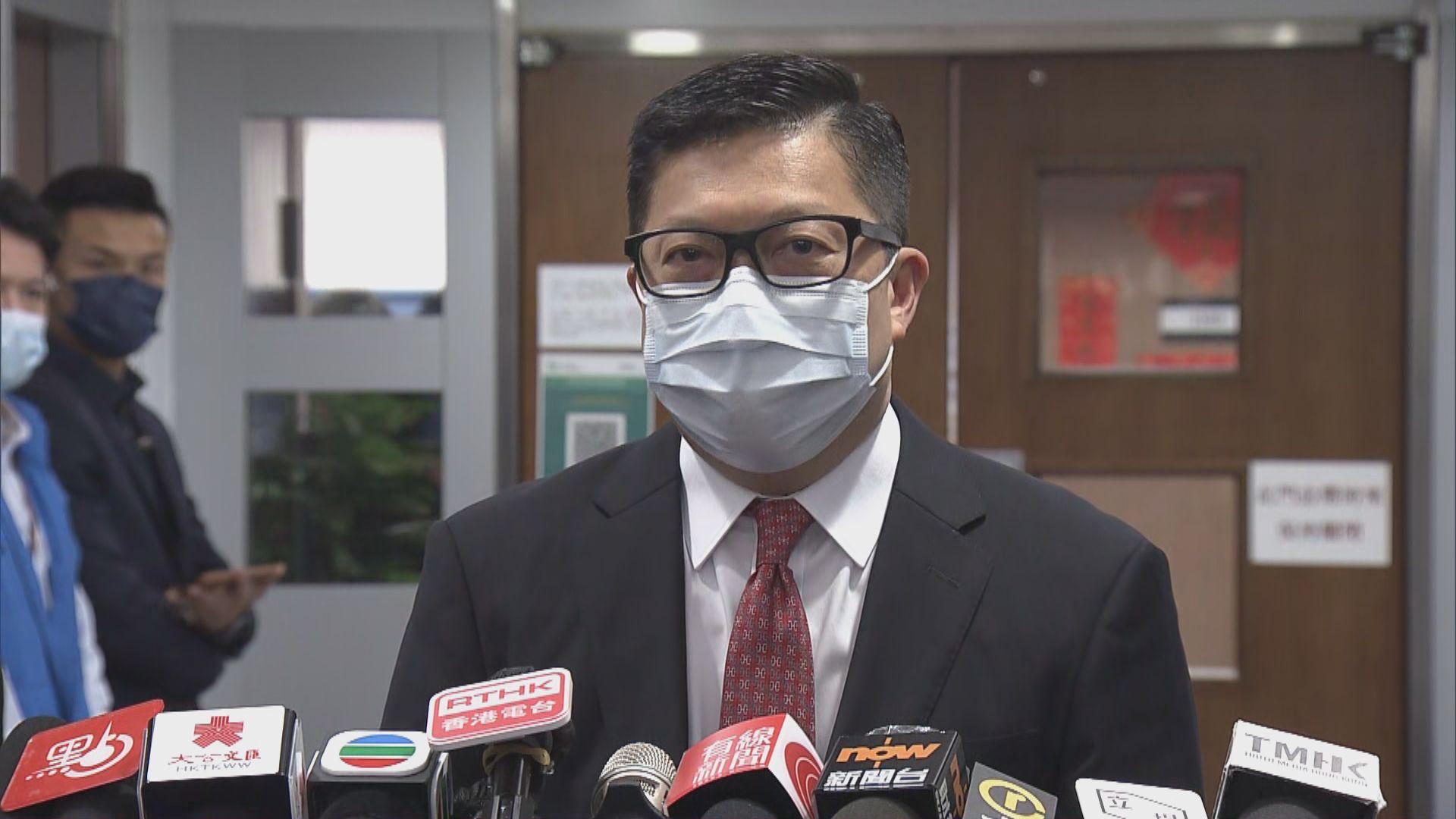鄧炳強:一定處理引致國家安全罪行的假新聞